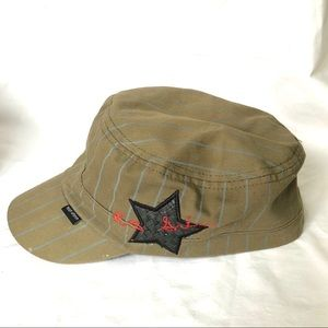 Peter Grimm fitted hat star military Size small
